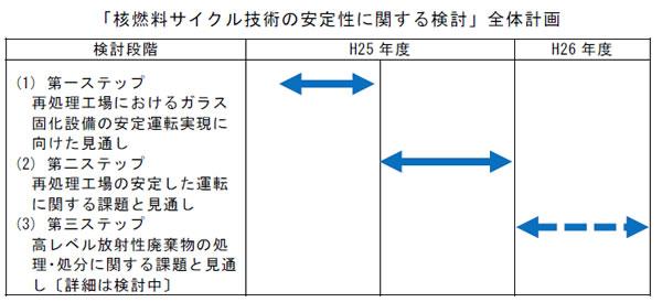 核燃料サイクル技術の安定性に関する検討